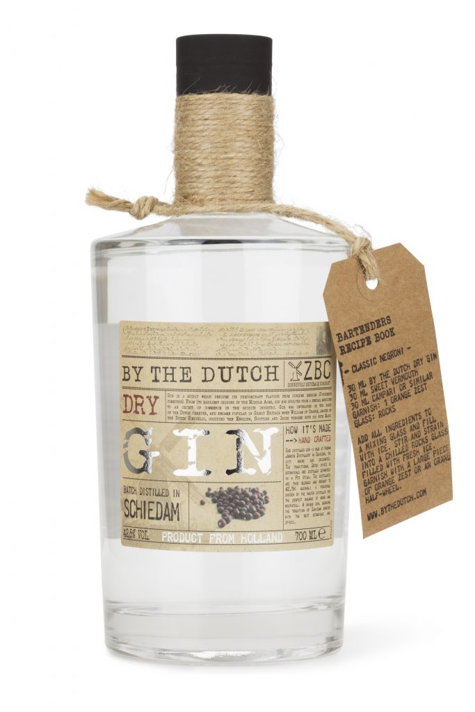 ByTheDutch-Gin website