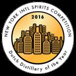 Dutch Distillery of the Year 2016