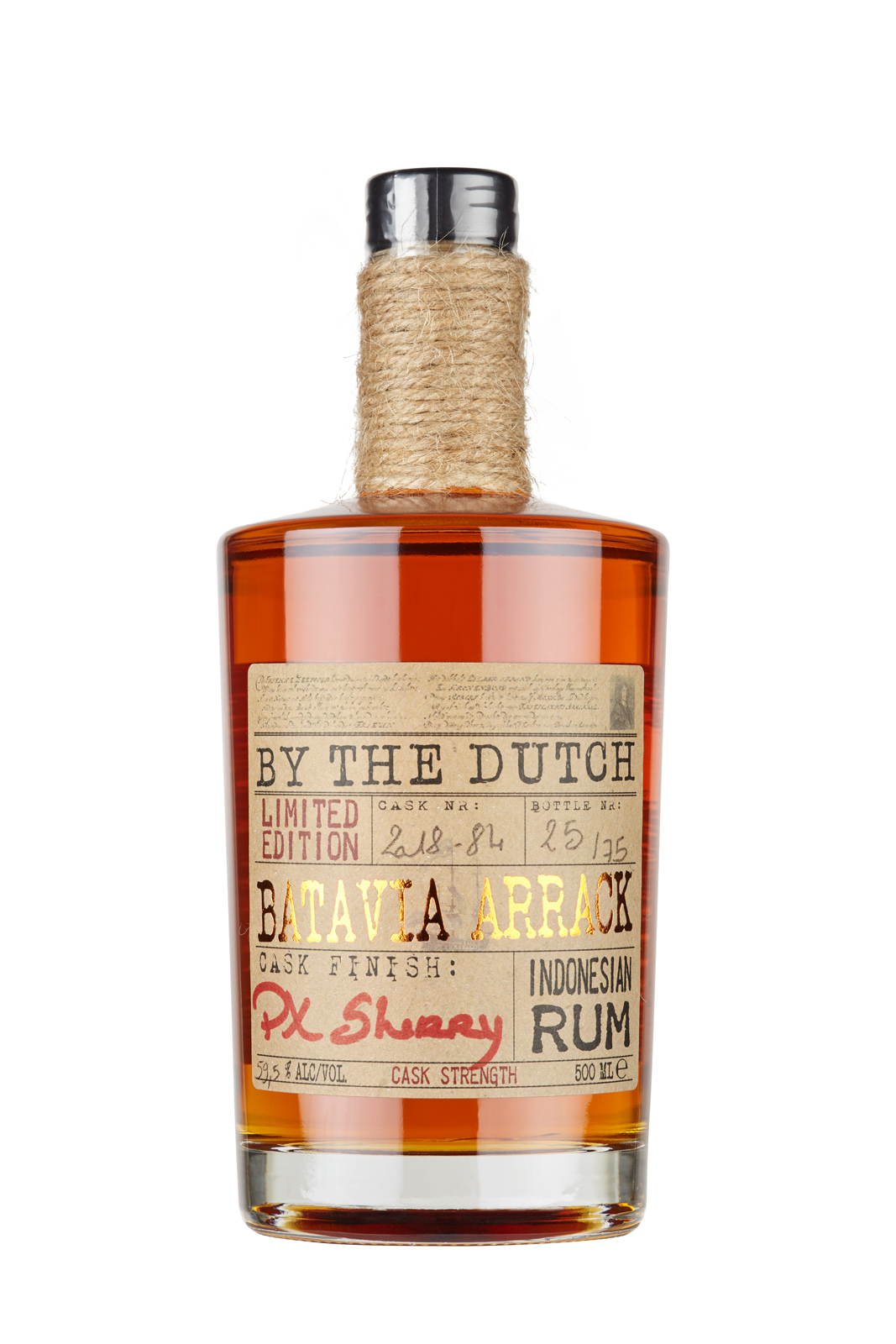 Limited Edition - Batavia Arrack PX Sherry